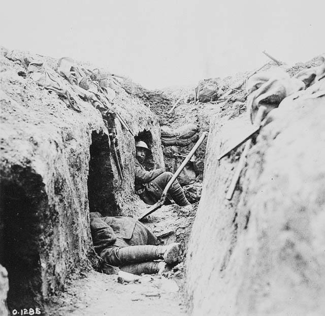 La vida en  las trincheras -primera guerra mundial