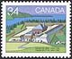 Canada, 34¢ Castle Hill, Nfld., 28 June 1985