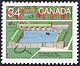 Canada, 34¢ Fort Whoop Up, Alta., 28 June 1985