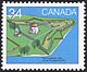 Canada, 34¢ Fort Frederick, Ont., 28 June 1985