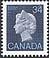 Canada, 34¢ Elizabeth II, 12 July 1985