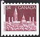 Canada, 34¢ Parliament, 1 August 1985