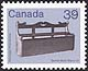 Canada, 39¢ Settlebed, 1 August 1985
