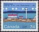 Canada, 34¢ Sisters Islets, F1(2) 15s 21.3m 21M Radio Beacon -- (M), 3 October 1985