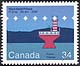 Canada, 34¢ Haut-fond Prince, F1 2 1/2s 25.3m 20M, 3 October 1985