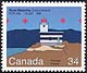 Canada, 34¢ Rose Blanche, Cains Island F1 R 10s 15.2m 8M, 3 October 1985