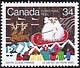 Canada, 34¢ Santa Claus parade, 23 October 1985