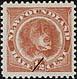 Newfoundland, 1/2¢ [Newfoundland dog], 15 February 1887