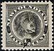 Newfoundland, 1/2¢ [Newfoundland dog], November 1894