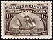 Newfoundland, 10¢ [Cabot's Ship, Matthew], 24 June 1897