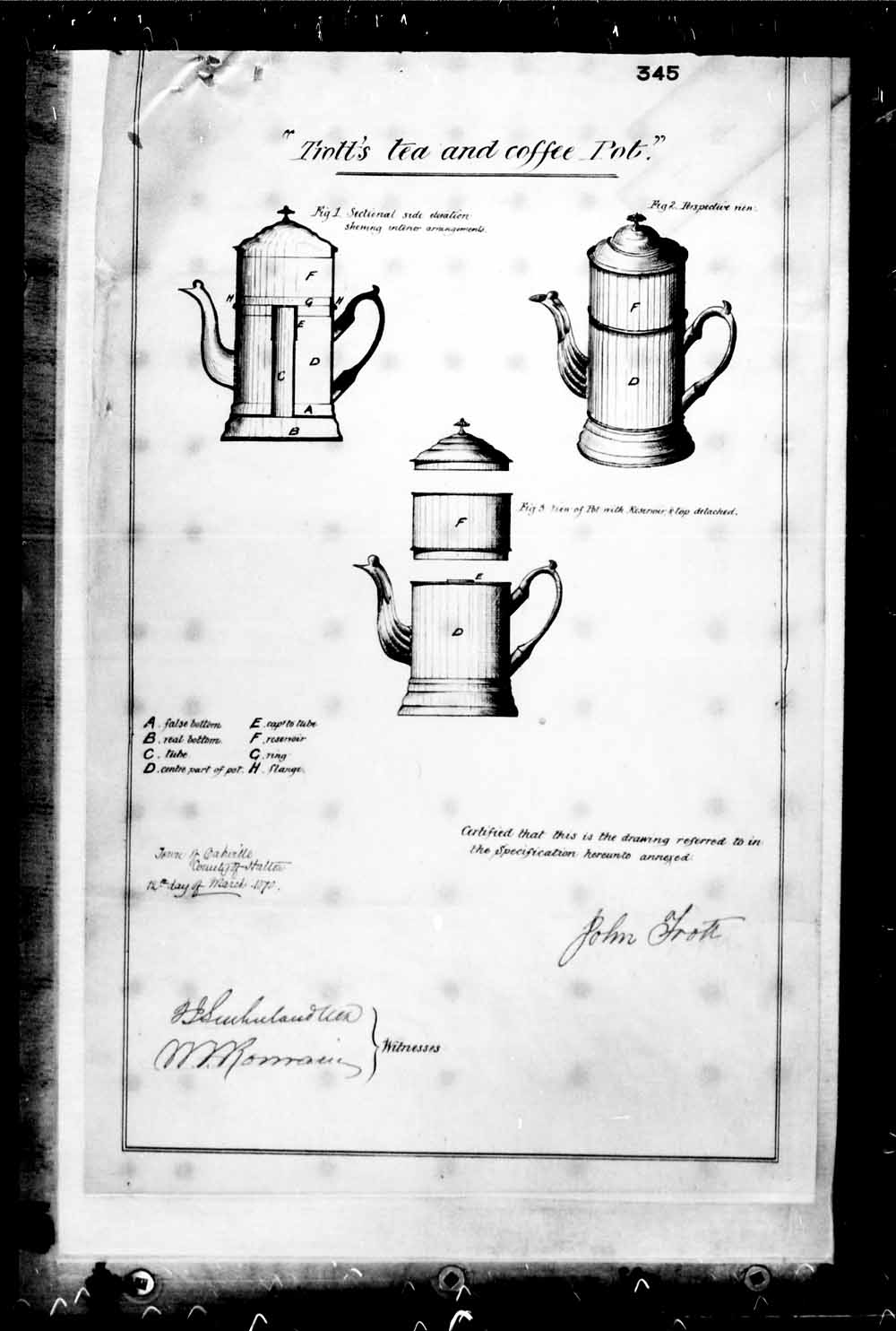 Digitized page of Canadian Patents, 1869-1919 for Image No.: e003228639
