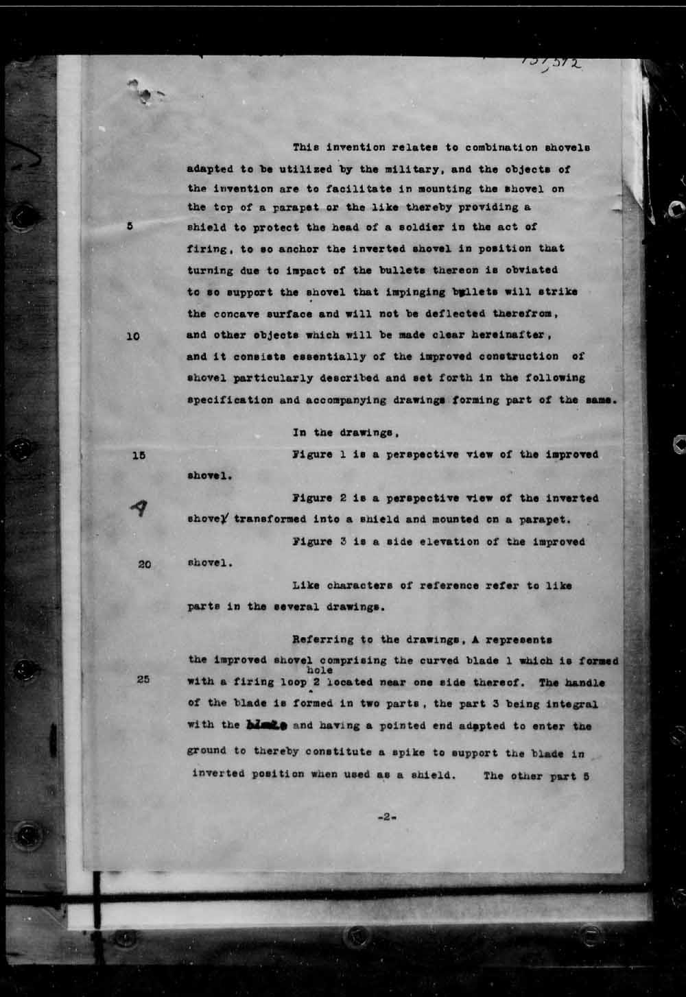 Page numérisé de Brevets canadiens, 1869-1919 pour l'image numéro: e005691675