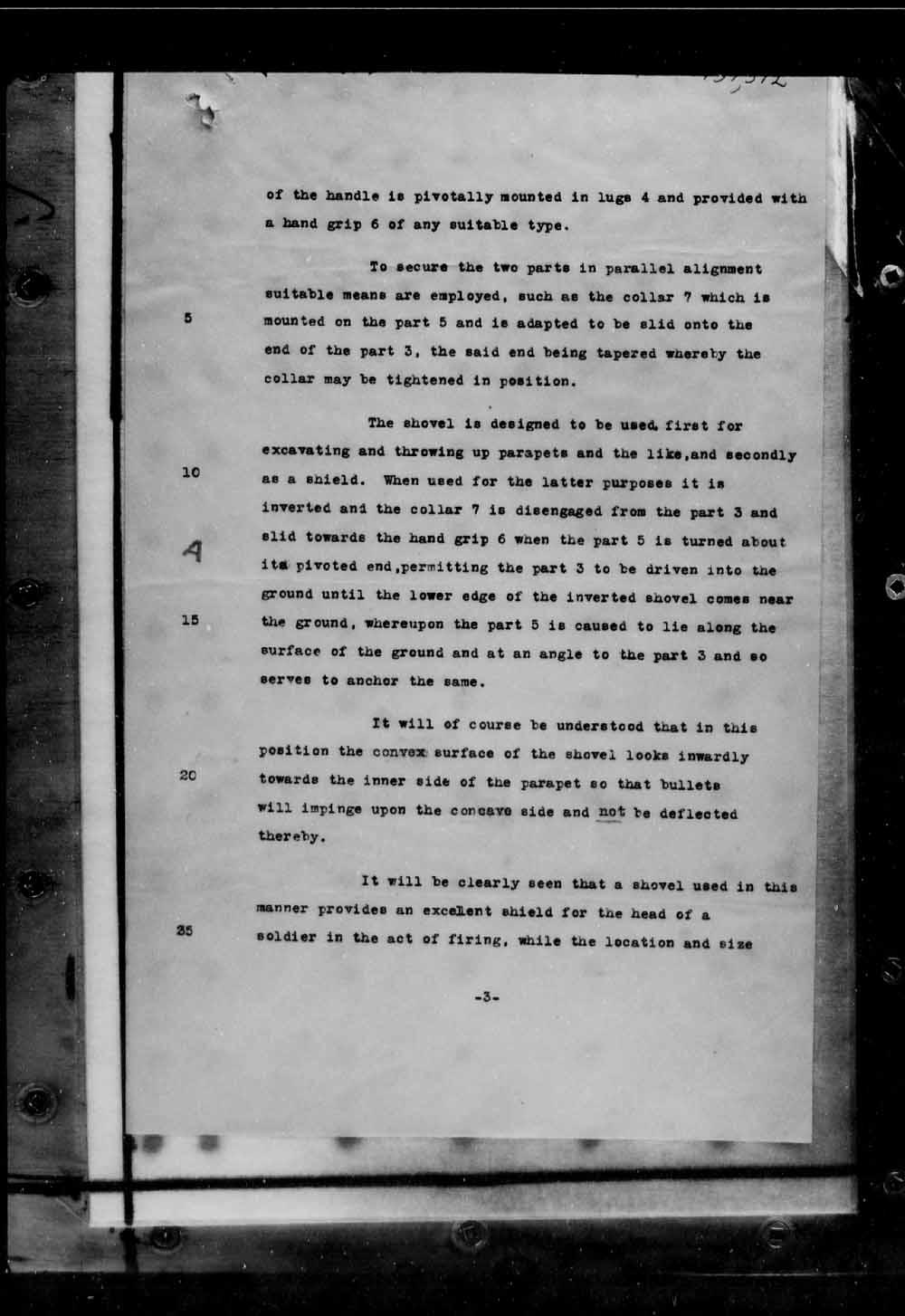 Page numérisé de Brevets canadiens, 1869-1919 pour l'image numéro: e005691676