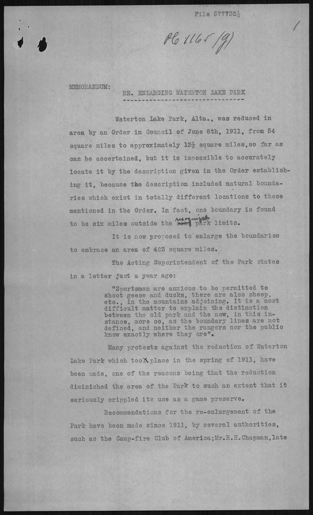 Digitized page of Orders in Council for Image No.: e010877254-v8